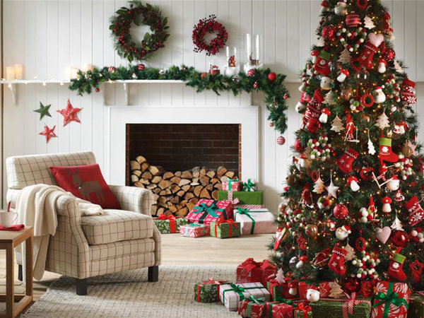 Grandes ideas para decorar tu rbol de navidad for Como decorar mi living con poca plata